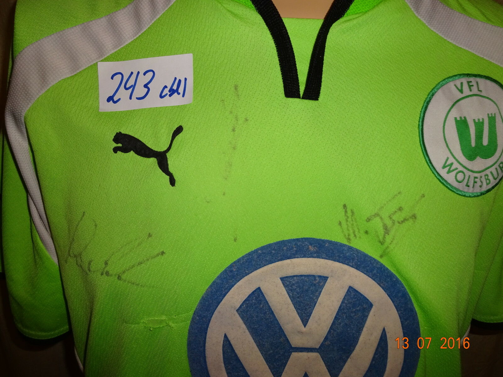 VfL Wolfsburg 2000/01 Puma Trikot 2000/01 Wolfsburg