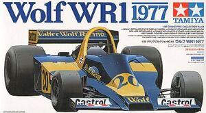 Wolf Wr1 1977 J.scheckter 1/20 Kit de montage avec machines à graver Tamiya 20064