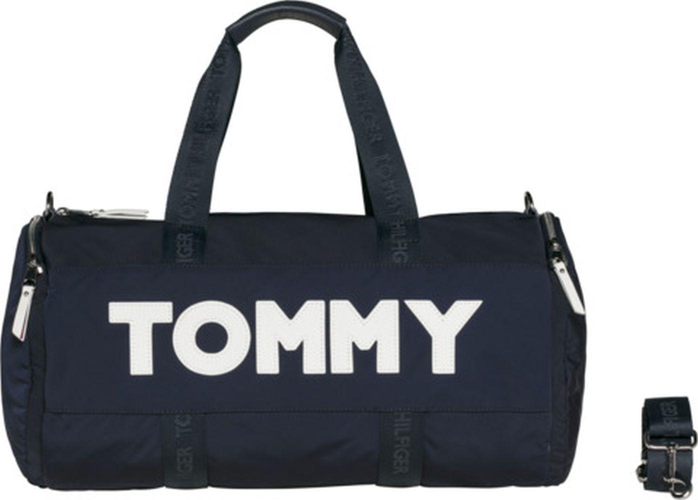 TOMMY HILFIGER Tommy Nylon Duffle Navy