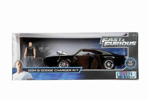 1970 Dodge Charger 1:24 with Dom Hollywood Ride Fast /& Furious