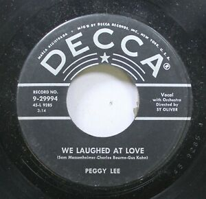 50-039-S-Unplayed-Stock-45-Peggy-Lee-We-Laughed-At-Love-Peggy-Lee-On-That-039-S-Alri