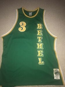 9d0f51f6c071 Image is loading allen-iverson-jersey-xxl-green-and-yellow-NEW