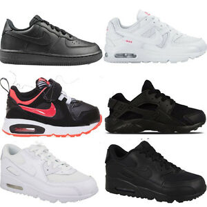 Détails sur Infants Toddlers Kids Baby Leather Nike Air Max TD Trainers Sports Shoes Sizes