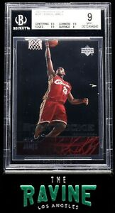 LeBron-James-2003-04-Upper-Deck-301-ROOKIE-RC-BGS-9-9-5-9-5-9-5-8