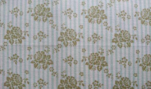 Baumwolle Meterware Vintage Tilda Emily Green Emily grün Blumen flowers 12€//m