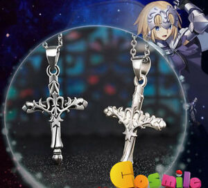 Fate grand order FGO Saber Pendant Necklace 925 Sterling Silver