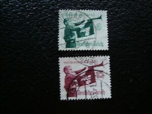 Germany-Stamp-Yvert-Tellier-N-543-544-Cancelled-A47