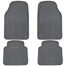 4pc Rubber Liner For Toyota Camry Floor Mats Gray All Weather Semi Custom Fit Fits 2012 Toyota Camry