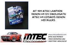 MT 404 MTEC LAMPADE XENON H4 12V OMOLOGATE MTEC H4 COSMOS XENON HID BULBS