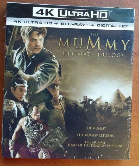 The Mummy Trilogy (4K Ultra HD Blu-ray, 2017, 4K Ultra HD Blu-ray)