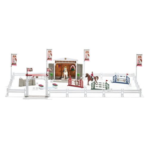 Schleich 42338 Reitturnier mit Pferden Spielfiguren NEU OVP