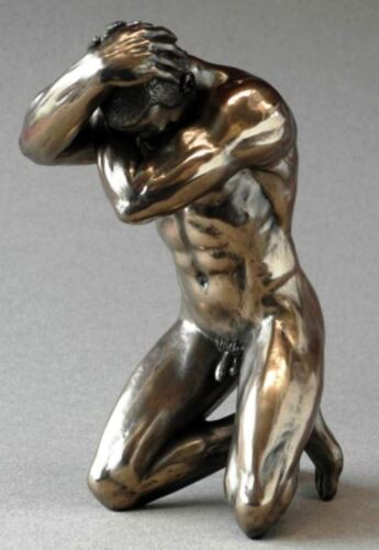Naked Man Sculpture Statue Figurine Nude Male Ornament Human Form Art