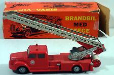 DTE OLD DENMARK TEKNO # 445 SCANIA VABIS FIRE ENGINE LADDER TRUCK NMB