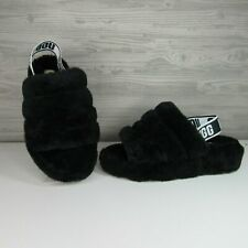 1183a4d7674 UGG Bodacious Fluff Yeah Slide Sheepskin SLIPPER Sandals US 11/ EUR ...
