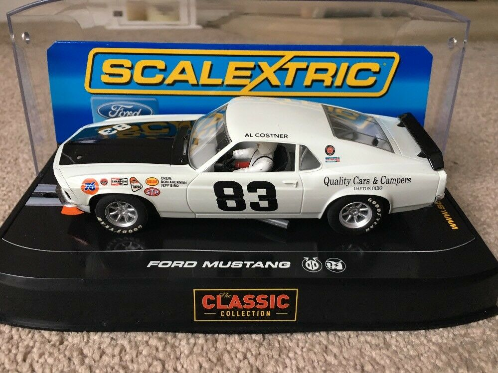 Scalextric AL Costner Ford Mustang Rare New Boxed C2890 1 32 scale