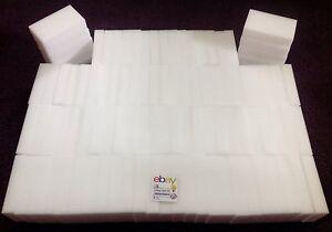 100-Magic-Sponge-Eraser-BULK-PACK-Melamine-Cleaning-Foam-3-4-034-Thick-USA-Seller