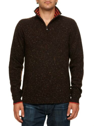 Robert Graham Quark 1//4 Zip Wool Pullover