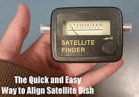Directv Satellite Finder Dish Alignment Tool Signal Align Direc Tv Television