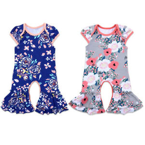 f8aff6e3f42f Image is loading Ruffles-Newborn-Baby-Girls-Boutique-Icing-Cotton-Flower-