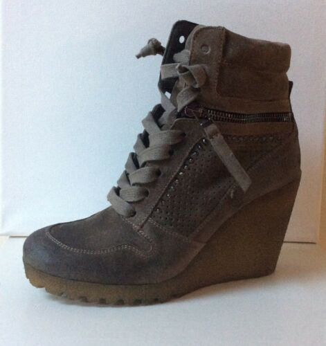 Bnwb 36 Wedges eu Style Taupe Trainer Poppy Rrp Suede £ Uk 215 s 3 K qxYg6aw