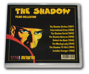 THE SHADOW FILMS COLLECTION - 6 DVD-R - 8 MOVIES - 1937