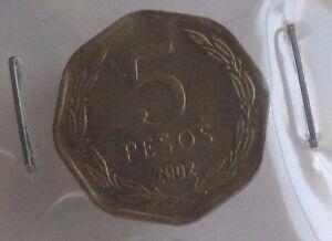 5-pesos-2002-SUP-monnaie-Chilie-Chile-H020