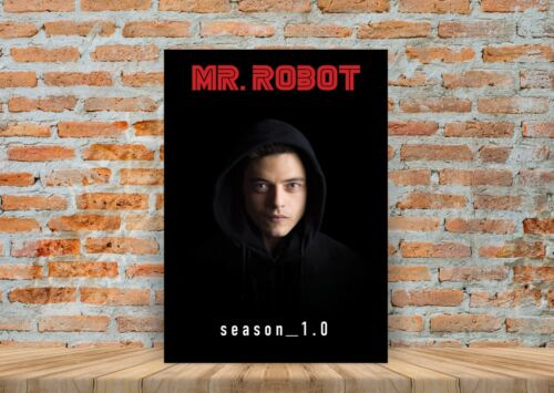 Mr Robot TV Show Poster or Canvas Art Print A3 A4 Sizes
