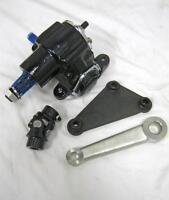 Vega Steering Gear Box Pitman Arm Mounting Bracket Kit W U Joint Street Rat Rod