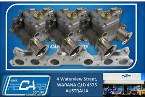 Ford-250-2V-GENUINE-WEBER-Triple-40-DCOE-Carburettor-Kit