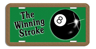 "1 Billiard Pool Ball Decal Bumper Sticker 6/"" Personalize Gifts Men Ladies Games"