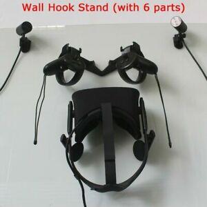 1-Set-Wandhalter-Halterung-fuer-Oculus-Rift-CV1-VR-Headset-und-Touch-and-Sensor