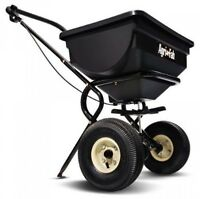 Agrifab 85pound Push Broadcast Spreader 450388, New, Free Shipping on sale