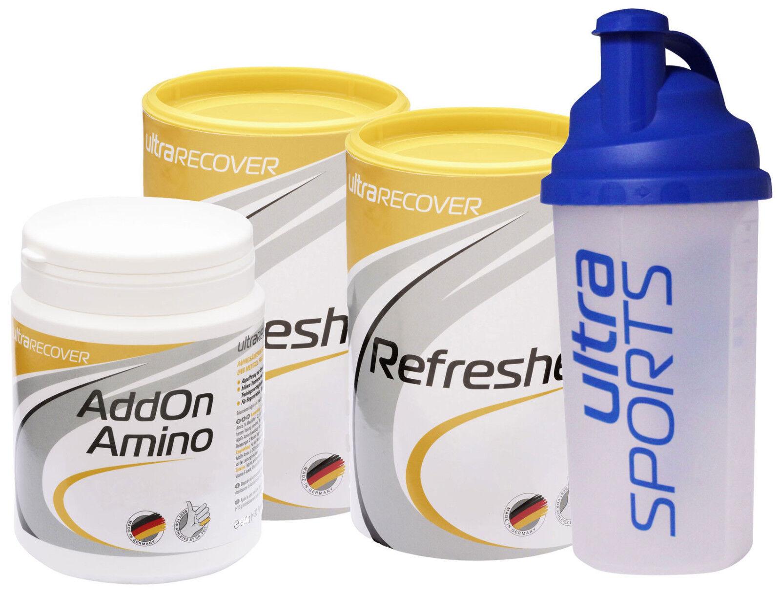 Ultra Mix Sports Refresher 2x500g & AddOn Amino 310g + Mix Ultra Shaker 578462