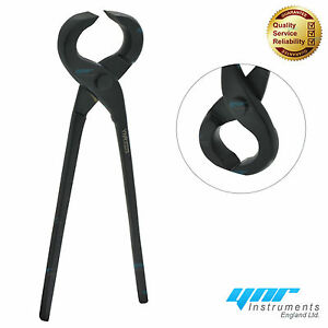 HOOF PIN CUTTER 15/'/' Nipper Farriers Tool Veterinary Instrument Steel BLACK New