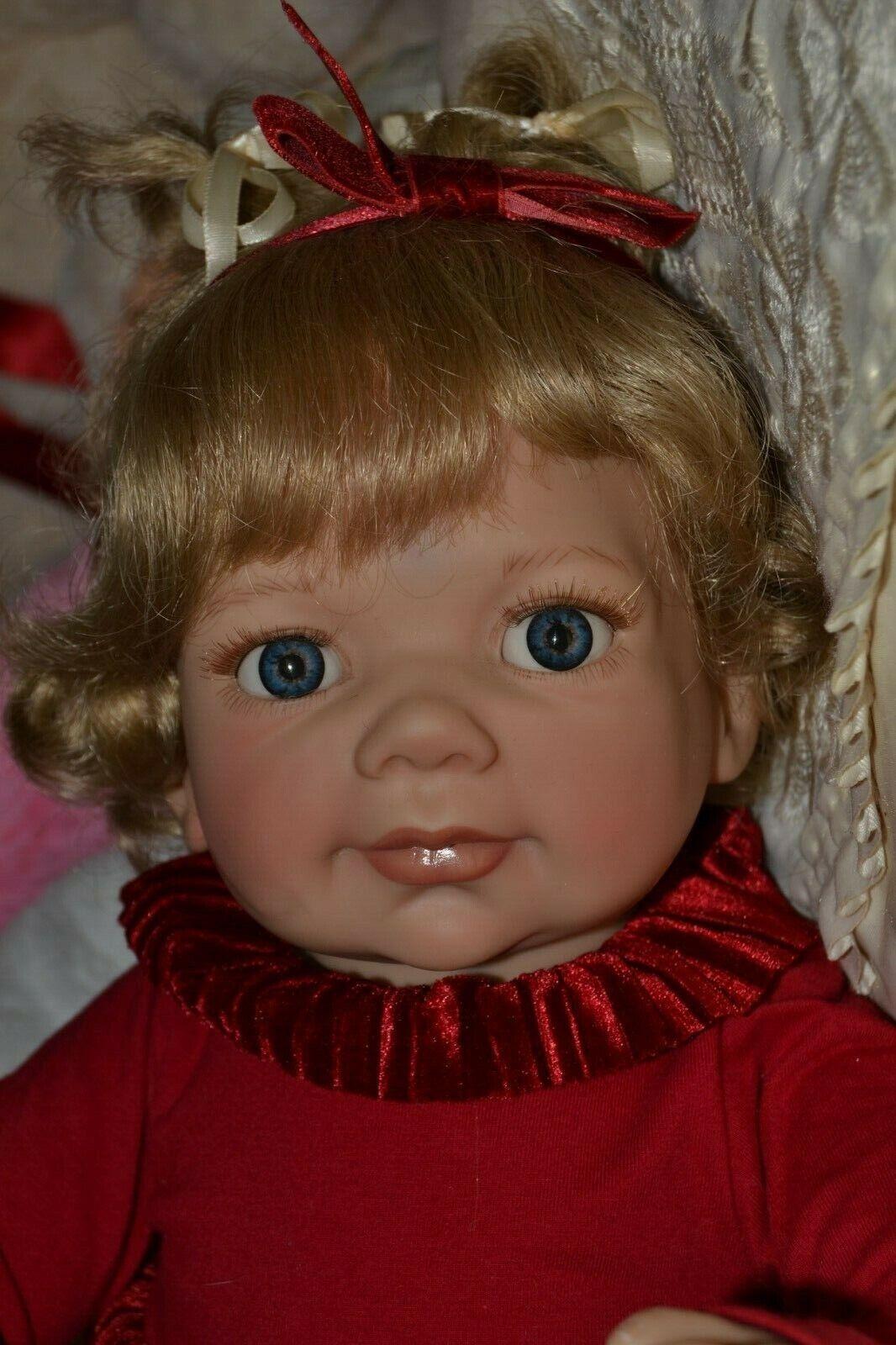Fibi  sucht Mami, 58 cm, blaue Augen,so süß,  für die Actionen 2020