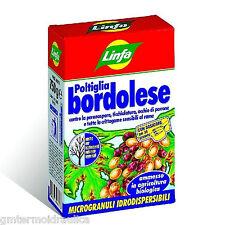 LINFA FUNGICIDA POLTIGLIA IDROSOLUBILE 750 gr ANTIPARASSITI Mod. BORDOLESE