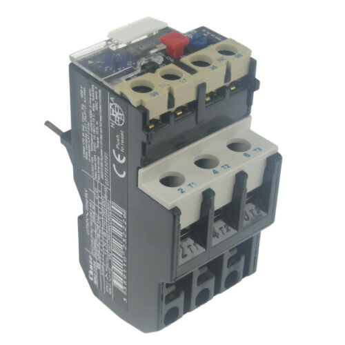 MR2-1306 1 TO 1.6 AMP THERMAL CONTACTOR OVERLOAD CIRCUIT BREAKER MOTOR CUT OFF
