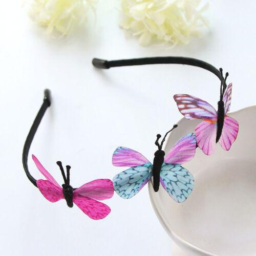Girls Kids Butterfly Headband Party Hair Accessory Fairy Princess Hairbelt