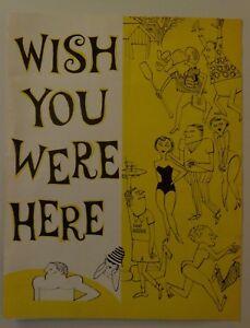 Program Wish You Were Here 1965 Arlene Fontana Kenley Players Columbus Ohio