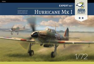 HURRICANE-Mk-I-Mk-I-TROP-RAF-amp-POLISH-AF-MKGS-1-72-ARMA-EXPERT-SET-NEW-MOLDS