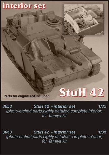 Koch Master 1  35 StuH 42 intern utrustning för Tamiya -kit