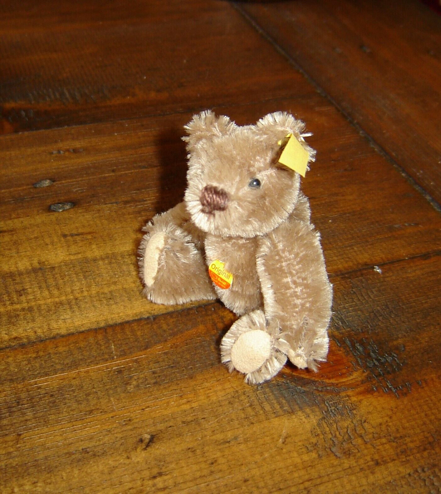 Steiff Bears Miniature Miniature Miniature mohair bear. 4.5  tall. With button in ear and tag. 59605b