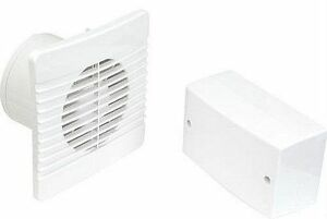 Bathroom Zone 1 low voltage 12v extractor fan with timer & transformer - ok for