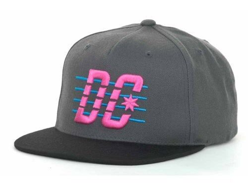 NEW DC Shoes Starter Velton Snapback Hat Starter Cap Flat Brim