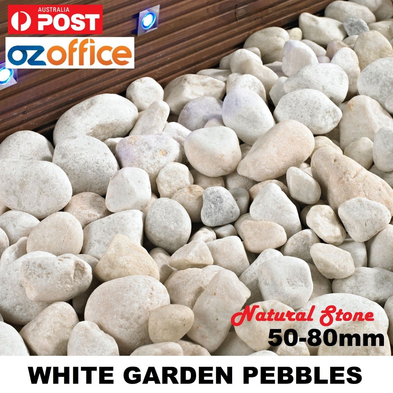 High Quality White Pebbles That Are Perfect For Your Garden, Light Court  Area, Pot Plants Or Any Indoor Feature.