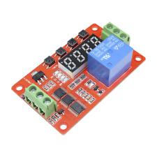Dc 24v Multifunction Self Lock Relay Plc Digital Display Cycle Delay Timer