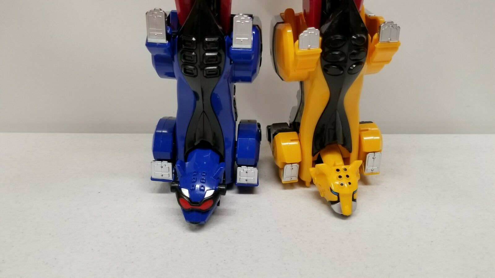 Power Rangers JUNGLE JUNGLE JUNGLE FURY Deluxe DX Jungle Pride megazord morpher 5befe1
