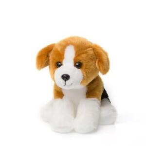 Anna-Club-Peluche-Beagle-Perro-15cm-Natural-Peluche-Animal-de-Tela-Nuevo