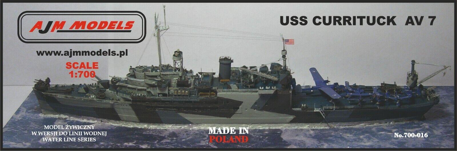 AJM Models 1 700 USS Currituck - AV - 7 seaplanes tender