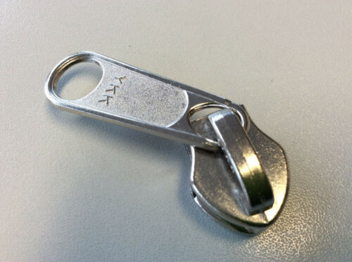 Doppel oder Einfachgriffschieber für YKK 10er Reißverschluss NEU Pack 5 Stück